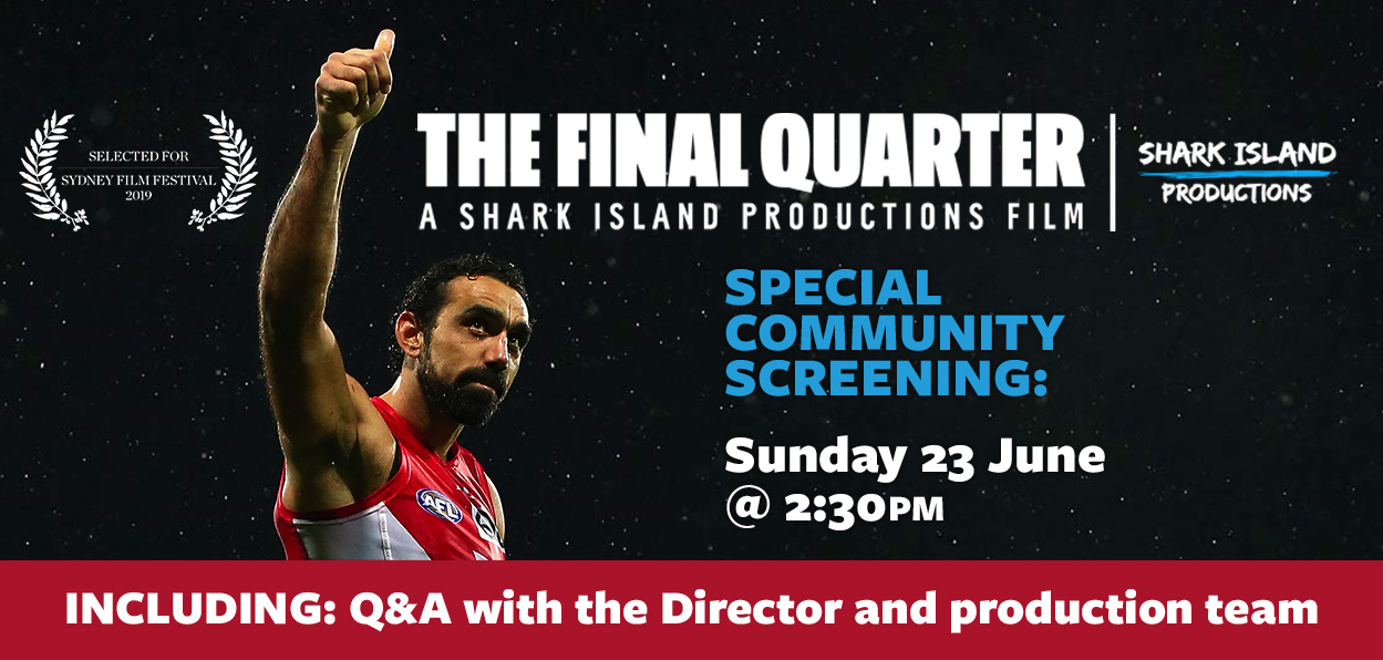 SOLD OUT! THE FINAL QUARTER Special Community Screening